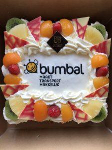 taart voor duurzamer bezorgen