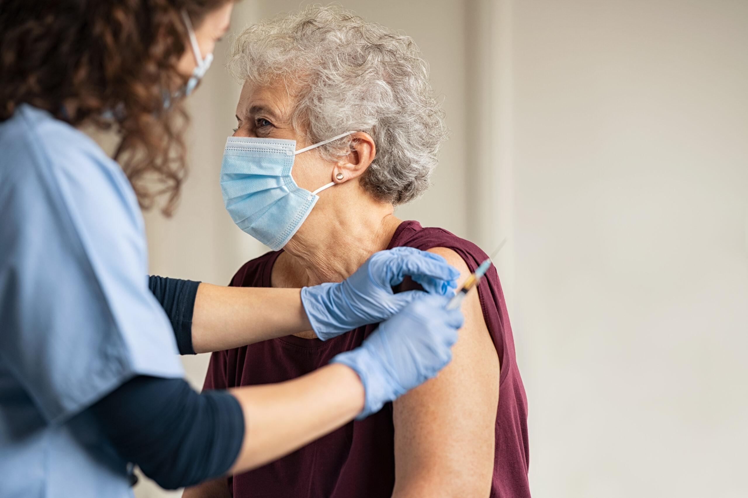 vaccineren op locatie